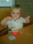 Stereo eating